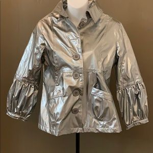 Max Rave Silver Jacket